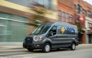 Electric Ford Transit-2022   E  Transit