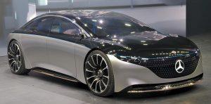 Mercedes-Benz Vision EQS на IAA 2019