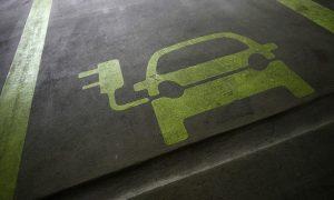 Electric charging logo good web