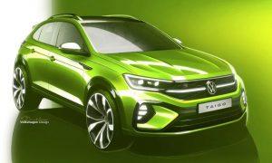 VW Taigo sketch