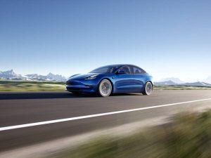 Новият любим електрически автомобил на германците идва от САЩ: Tesla Model 3.