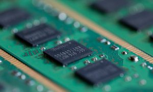 Samsung Electronics Memory Modules As Company's Profit Drops Most in Four Years