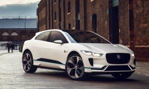 I-Pace е първата напълно електрическа кола на Jaguar