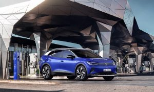 VW ID4, захранван от батерии, е ключов модел в електрическото оборудване на марката