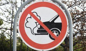 Знак за забрана на емисиите
