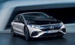 Седанът EQS е изцяло електрическият флагмански модел на Mercedes