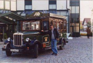 Совалката до хотела при мое пребиваване в Мюнхен.