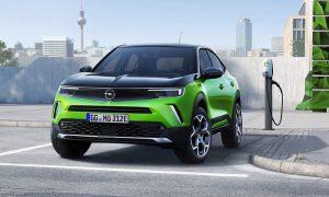 Изцяло електрическият малък SUV на Opel Mokka-e. Opel/Vauxhall планира да стане марка само за електричество до 2028 г.