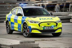 Неотдавна  Ford представи нов полицейски концептуален автомобил Mustang Mach-E в Обединеното кралство. All Rights Reserved: F Stop Press Ltd.   +44 (0)7765 242650 www.fstoppress.com www.rkpphotography.co.uk