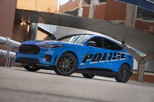 В щата Мичигън се тества електрически 2022 Model Year Police Evaluation Mustang от 18 до 20 септември
