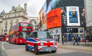 Citroen Ami Лондон 2021 г.
