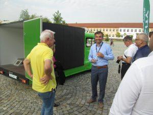 Син Карс Индъстри АД представи в София Тех Парк своя първи товарен електромобил – L CITY.