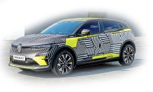 Изцяло електрическият компактен автомобил на Renault Megane-e ще бъде пуснат на пазара през следващата година.