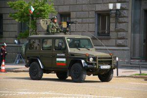 На въоръжение в българската армия - Mercedes G-Class